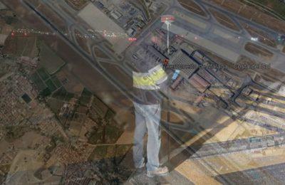 Topografía en los aeropuertos Málaga Costa del Sol y Jerez.